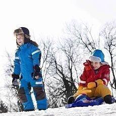 na lyže s dětmi