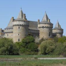 Bretaňský středověký hrad Suscinio