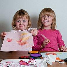společné tvoření dětí a rodičů