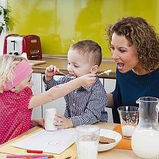 mléčné výrobky pro děti