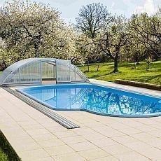 bazén po zimě