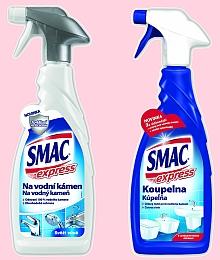 přípravky SMAC Express na koupelnu