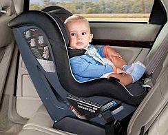 bezpečná autosedačka