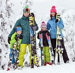 lyžování v Dolní Moravě