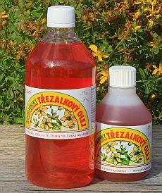 Svatojánský třezalkový olej