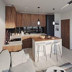 design malé kuchyně