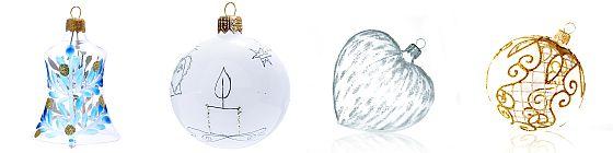 vánoční ozdobíy GLASSOR