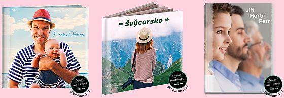 nová fotokniha deLUXE s pevními deskami