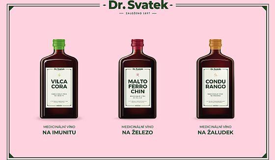 Medicinální sladová vína Dr. Svatek