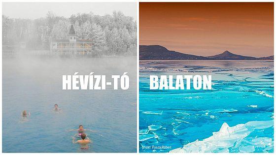 Maďarsko - Hevíz x Balaton
