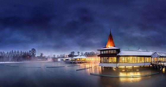 jezero v Hevízu