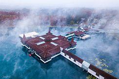 Hevíz - termální léčivé jezero