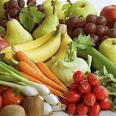 pravidelní stravování - ovoce a zelenina