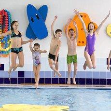 děti na plavání