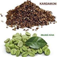 kardamon a zelená káva