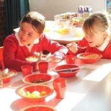 děti a snídaně