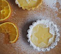 Tartaletky bez lepku s pomerančovou náplní