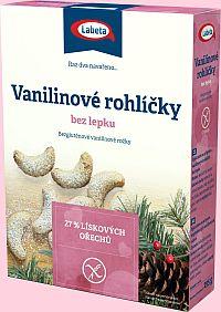 Vanilinové rohlíčky bez lepku