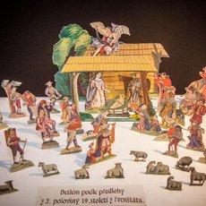 Výstava Betlémy a premiéra největšího dioráma v ČR na téma Život Kristův