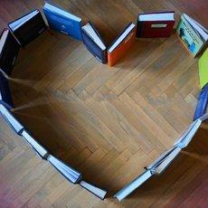 srdce z knih