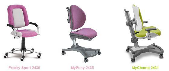 rostoucí nábytek - židle