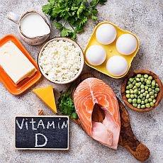 potraviny s vitamínem D