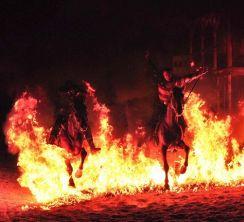 Velká ohňová show