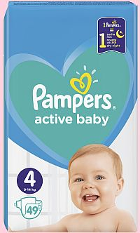 Pampers Active Bab