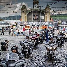 Harley-Davidson na Prague Harley Days a Jack Daniel´s presents Burgerfest