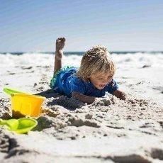 Jak si užít dovolenou s dítětem u moře