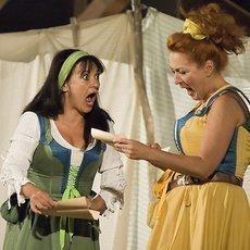 Letní shakespearovské slavnosti zvou na komedie Zkrocení zlé ženy a Veselé paničky windsorské.