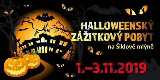 Šiklův Mlýn - zážitkový pobyt Halloween