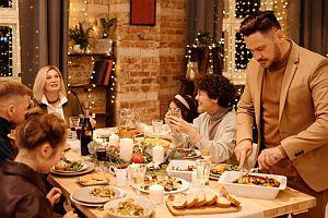 vánoční přejídání