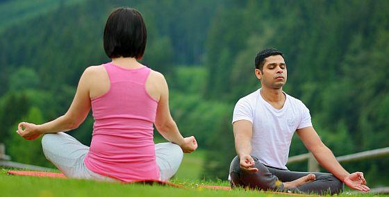 ranní cvičení jogy