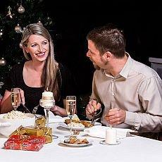 vánoce, večírky