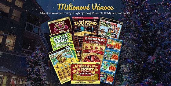 Milionové vánoce s Play Games