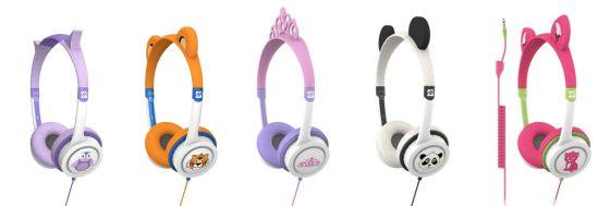 nová sluchátka Zagg pro děti