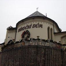 Vánoční dům v Karlových Varech