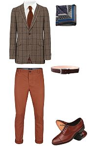 oblékání mužů