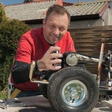 Libovky Pepy Libického: model traktoru