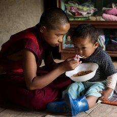 Příběh Malý mnich