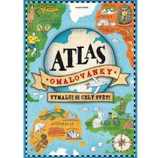 Atlas omalovánky