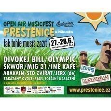 Open Air Musicfest Přeštěnice 2014 nabídne bohatý program
