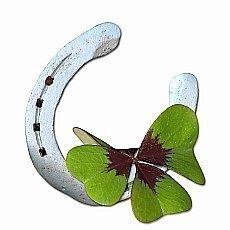 naušnice - čtyřlístek