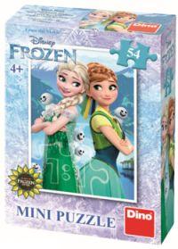 výhra - puzzle Ledové království
