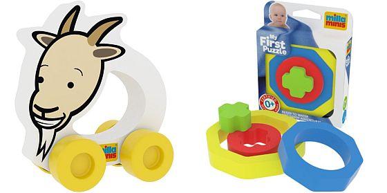 výhry - hračky Milla Minis