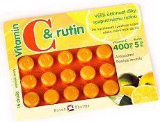výhra - Vitamín C s rutinem