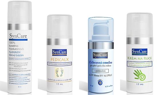 sada kosmetiky SynCare