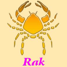 Rak - horoskop na rok 2017