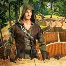 Letní dobrodružství s s Robinem Hoodem na zámku Loučeň